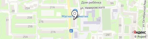 Амкор-Софт на карте Смоленска