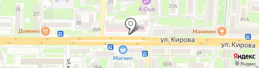 GLossy Nails на карте Смоленска