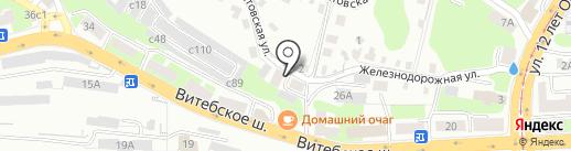 Арена-Принт на карте Смоленска
