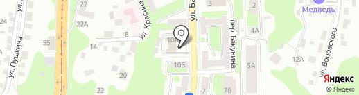 Центр делового образования Смоленской Торгово-промышленной палаты на карте Смоленска