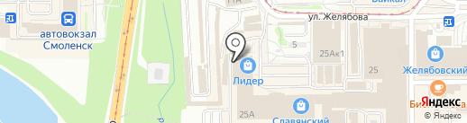 Магазин распродажи мебели на карте Смоленска