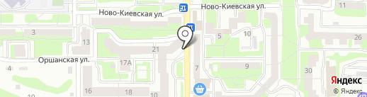 Справедливая Россия на карте Смоленска