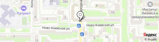 Центр установки заборов на карте Смоленска