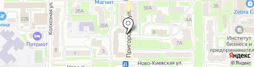 Московский государственный строительный университет на карте Смоленска