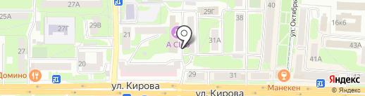 Правовой мир на карте Смоленска