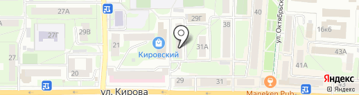 Дилор на карте Смоленска