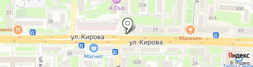 Линия Здоровья на карте Смоленска