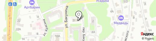Смоленский областной центр народного творчества на карте Смоленска