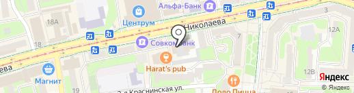 ДОСААФ России на карте Смоленска