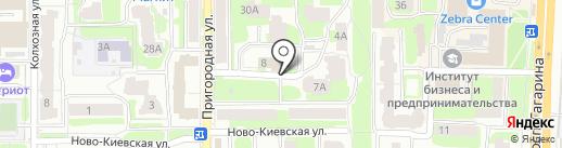 Центр занятости населения г. Смоленска на карте Смоленска