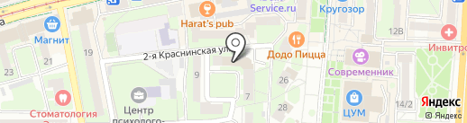 Курьер Сервис Экспресс на карте Смоленска