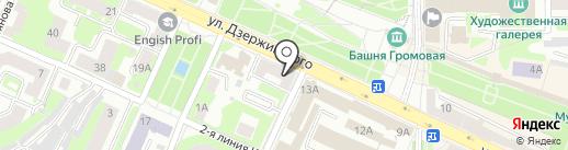 Злато.ru на карте Смоленска