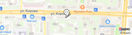 Дом электрика на карте Смоленска