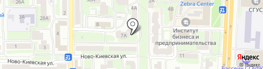 Сервис, ТСЖ на карте Смоленска