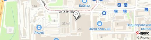 Мир сантехники на карте Смоленска
