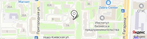 Агентство оценки Ковалевой и Ко на карте Смоленска
