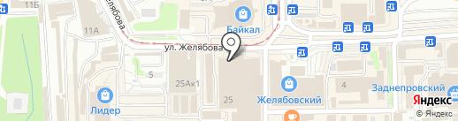 Модный базар на карте Смоленска