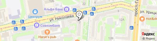 КРЫМ, КПК на карте Смоленска