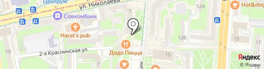 Мини-маркет на карте Смоленска
