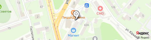 ДСК на карте Смоленска
