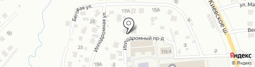 Подкова на карте Смоленска