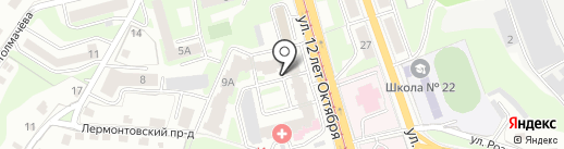 Баланс на карте Смоленска