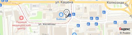 BestиЯ на карте Смоленска