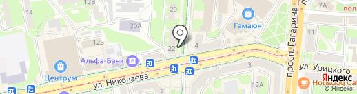 Кроха на карте Смоленска