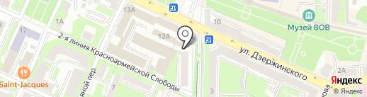 Губерния на карте Смоленска