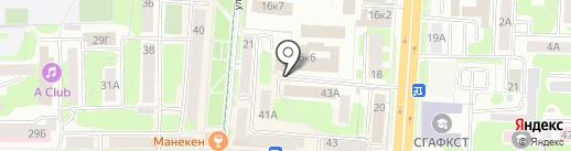 СЭМИ на карте Смоленска