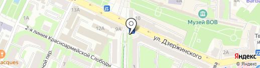 Киоск по продаже мороженого на карте Смоленска