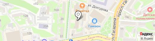 Банк ВТБ 24, ПАО на карте Смоленска