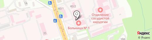 Областной гепатологический центр на карте Смоленска