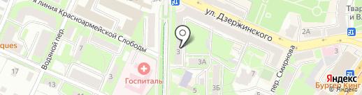 Смоленское областное бюро судебно-медицинской экспертизы на карте Смоленска