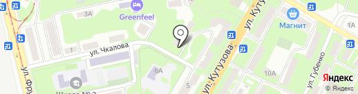 Рембытсервис на карте Смоленска