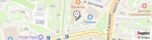 Международный юридический институт на карте Смоленска