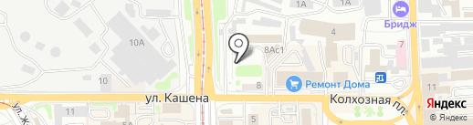 Магазин оборудования для шиномонтажа на карте Смоленска