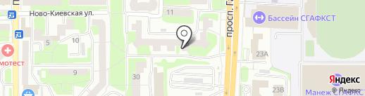 ГАРМОНИЯ на карте Смоленска