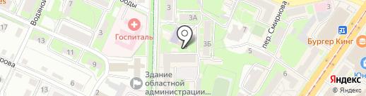 AVIATOR на карте Смоленска
