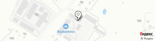 Практика на карте Смоленска