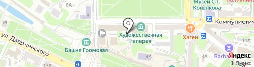 Восток-холдинг на карте Смоленска