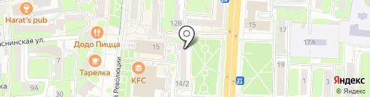 RLG на карте Смоленска