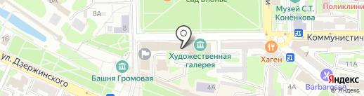 Белый пепел на карте Смоленска