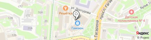 Росбанк, ПАО на карте Смоленска