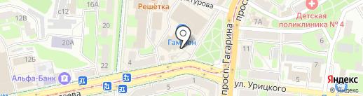 Miss на карте Смоленска