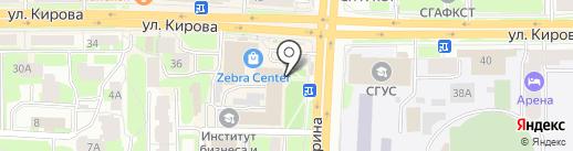 Автобаза67 на карте Смоленска