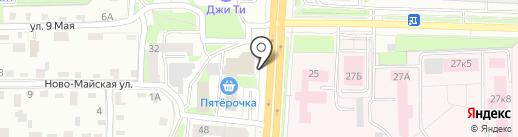 Ленинский районный суд на карте Смоленска