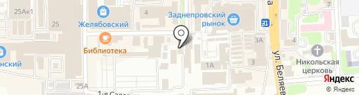 ОлРеймент на карте Смоленска