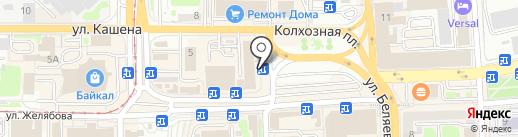 ЛЭП-Завод на карте Смоленска