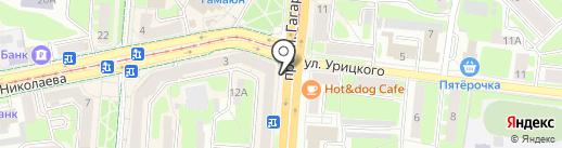ТЕПЛОЛЮКС-Смоленск на карте Смоленска